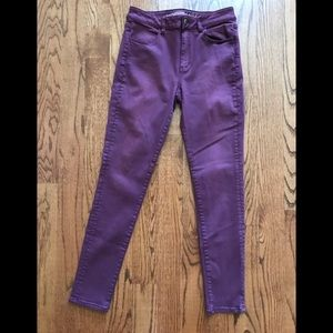 High rise jeggings from American Eagle